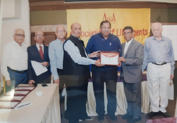 Association of LIC Agent Certificate